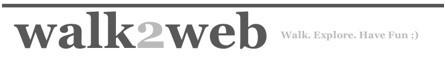 Walk2web, caminando entre sitios web