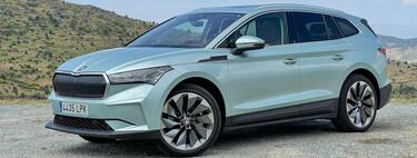 Probamos el Skoda Enyaq iV: un coche eléctrico que destaca por diseño con una calidad que supera al Volkswagen ID.4
