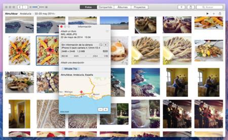 Apple Fotos Mapas