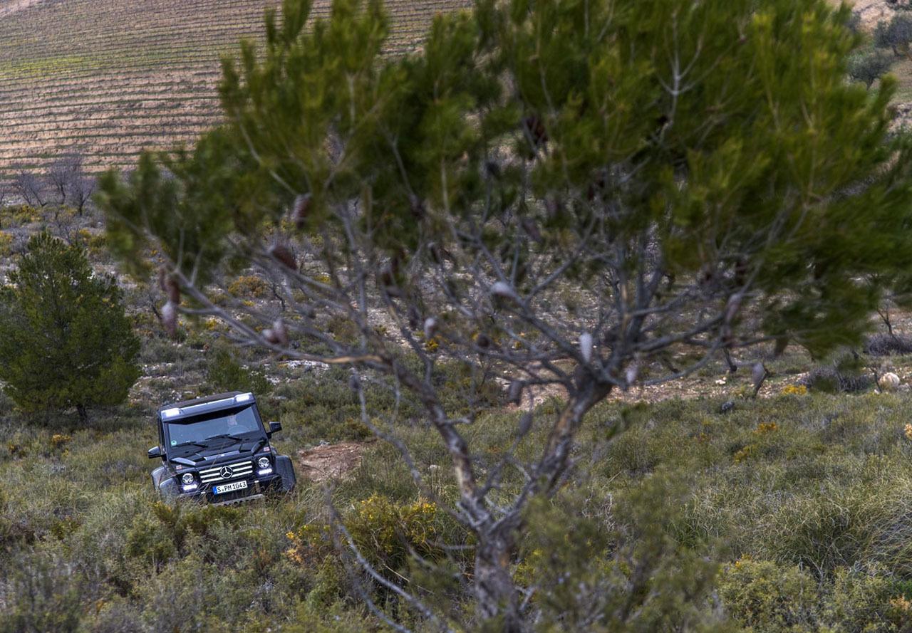 Foto de Mercedes-Benz G 500 4x4², toma de contacto (62/127)