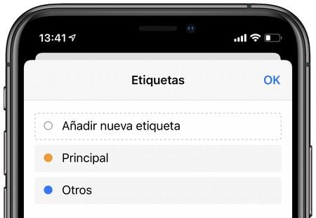 Asignar Iphone