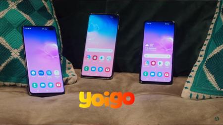 Precios Samsung Galaxy S10 y Galaxy S10+ con tarifas Yoigo