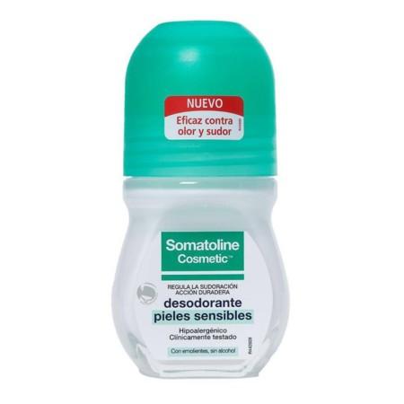 Somatoline Cosmetic Desodorante Pieles Sensibles 50 Ml Roll On
