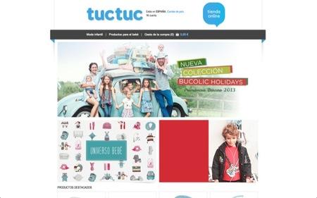 La tienda de Tuc Tuc en Internet para acceder cómodamente a los productos de la marca especializada en ropa infantil