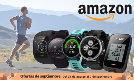 Empieza el curso poniéndote en forma con estas ofertas en relojes y ciclocomputadores Garmin y Polar de las ofertas de septiembre de Amazon