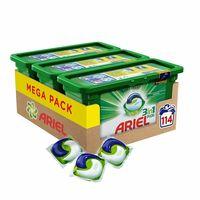 Por 23,99 euros podemos hacernos con este pack de 114 lavados Ariel 3en1 PODS Original