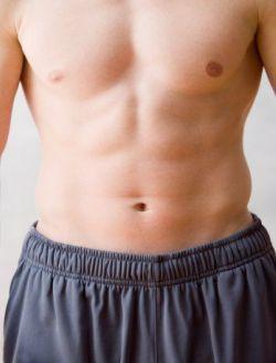 Hombres, biceps, barriga y longevidad