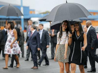 Las Adidas y el vestido de Asos de Malia Obama en Cuba dejan claro que es toda una fashion addict