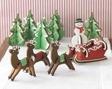 Moldes para hacer galletas de Navidad en 3D