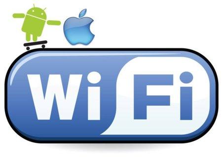IOS y Android ya son responsables del 58% del tráfico WiFi