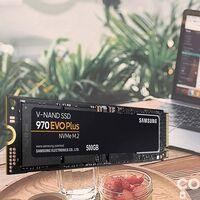 Tu ordenador volará con un disco duro NVMe como el Samsung 970 Evo Plus con 500 GB de capacidad. Amazon te lo deja más barato por 86,99 euros