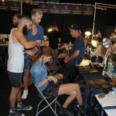 Foto 9 de 27 de la galería el-backstage-de-custo-en-la-nyfw en Trendencias Belleza