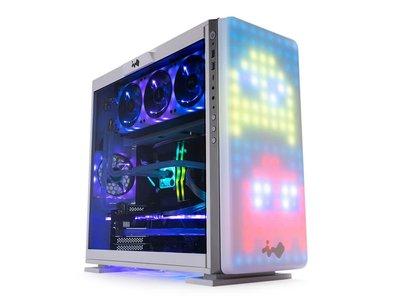 Si buscas un PC llamativo para el salón, la nueva caja In Win 307 tiene una matriz de 144 LEDs en su frontal