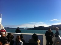 Instantáneas de California: ferry desde Sausalito para visitar al adivino mecánico Zoltar