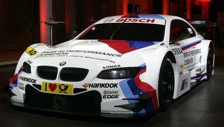 BMW presenta los colores de guerra de su M3 para el DTM