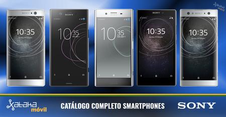 Sony Xperia XA2 y L2, así encajan dentro del catálogo completo de smartphones Sony en 2018