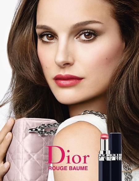 Natalie Portman encandila de nuevo junto a Dior: Rouge Dior Baume