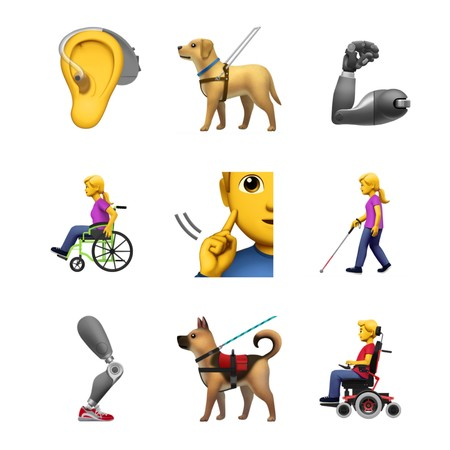 Apple Accessible Emoji