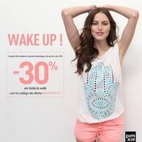 Pimkie oferta un 30% de descuento para compras online tempraneras, hasta el domingo