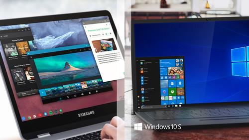 Windows 10 S vs Chrome OS, cómo se comparan en servicios y aplicaciones