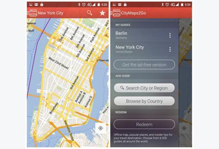 Mapas Offline City Maps 2 Go