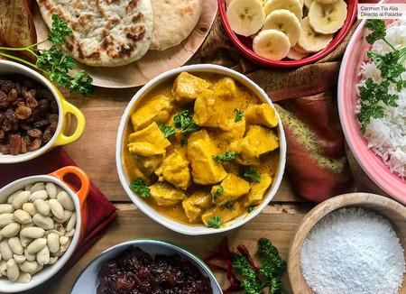 Pollo al curry: cómo acompañarlo para hacer una deliciosa comida india, receta fácil y rápida con vídeo incluido