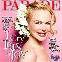 """Nicole Kidman portada de """"Parade"""""""