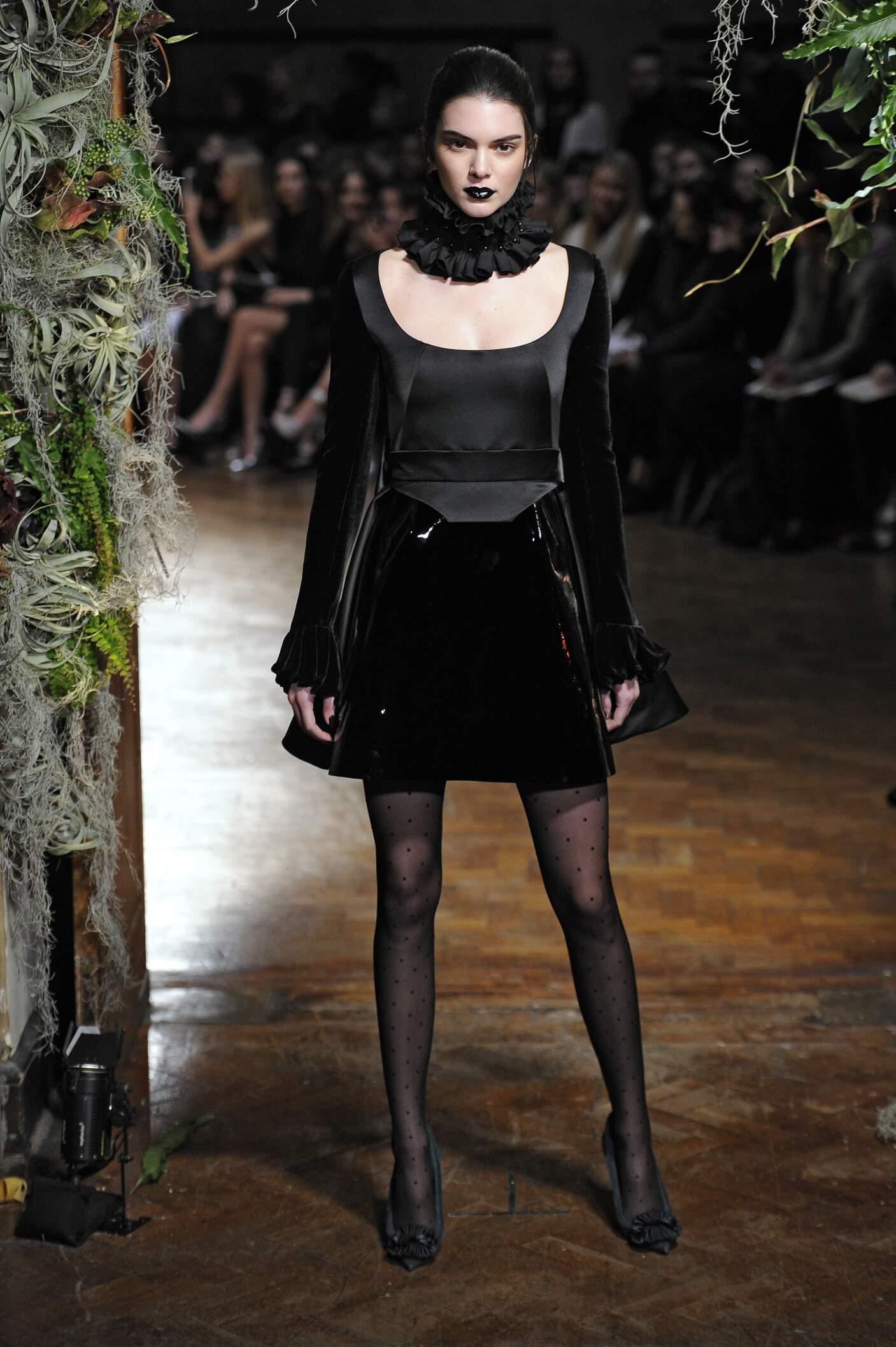 Kendall jenner en las Semanas de la Moda