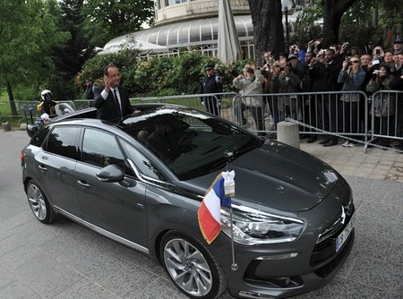 Citroën DS5 François Hollande