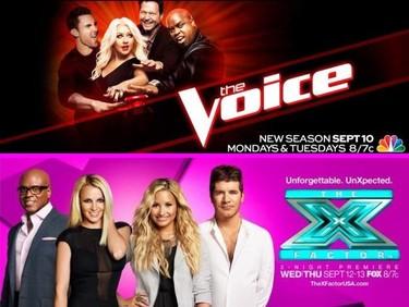 Simon Cowell empeñado en polemizar y Christina Aguilera hablando maravillas de Britney Spears