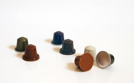 Dedades y cápsulas de chocolate