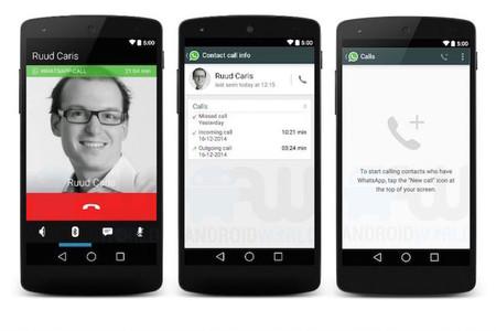 Así podrían lucir las llamadas de voz en WhatsApp