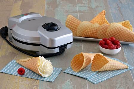 Probamos la máquina de barquillos de Severin: tus propios cucuruchos de helado caseros y mucho más