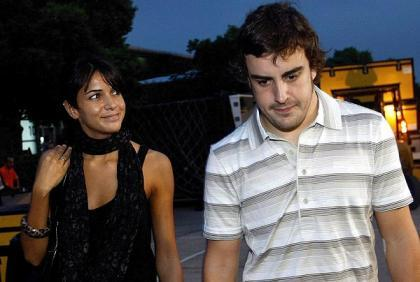 Fernando Alonso se quedó sin habla al conocer a Raquel del Rosario