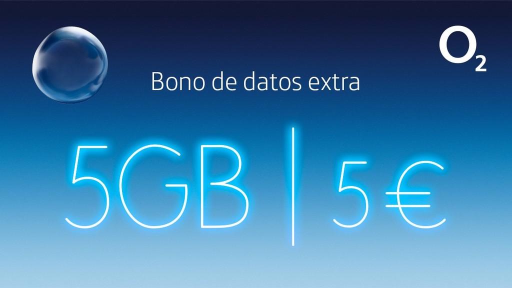 O2 ya tiene solución para quien más navega: 5 GB extra por 5 euros