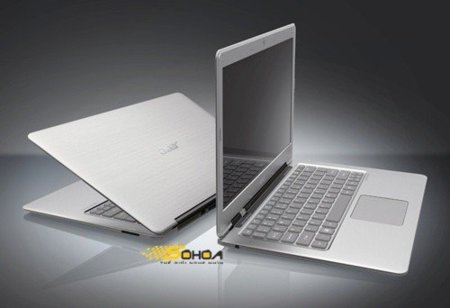 Acer Aspire 3951 se deja ver con aspecto de MacBook Air
