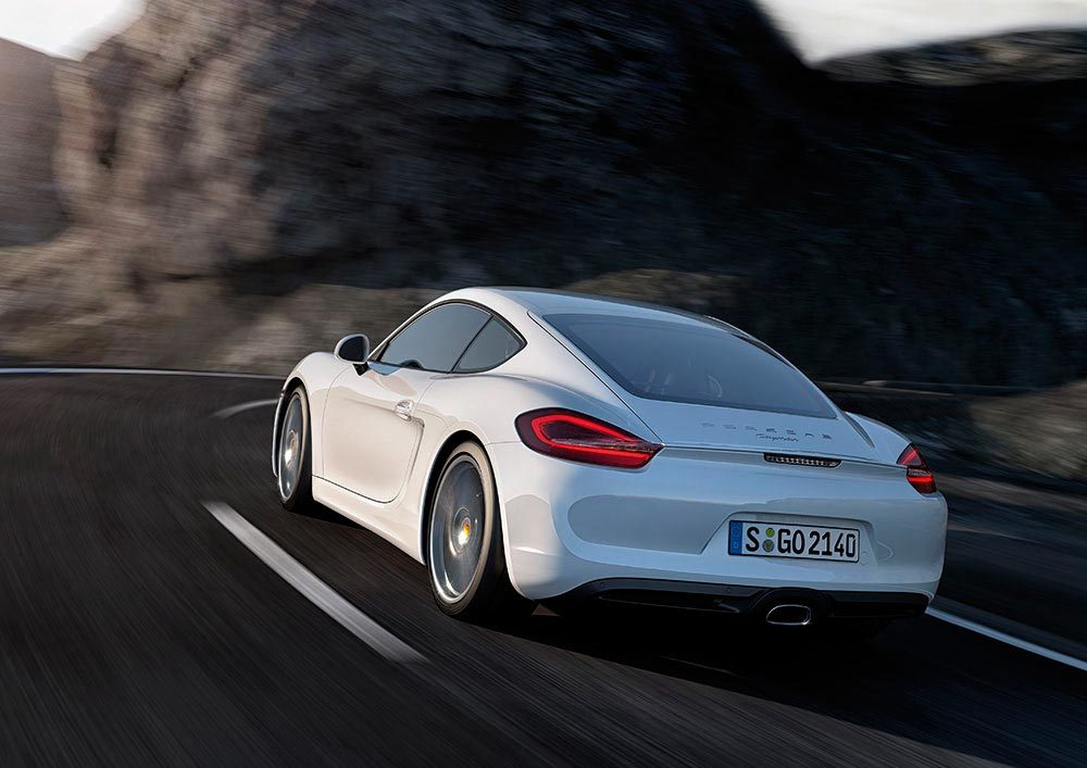 Foto de Porsche Cayman 2013 (4/9)