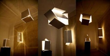 Lámparas modulares de  Robert Hoffman