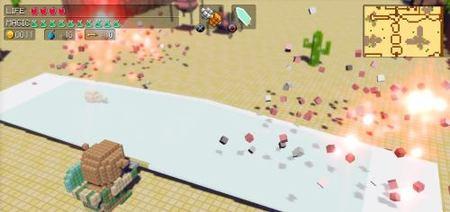 '3D Dot Game Heroes' ya tiene fecha para EEUU, y a precio rebajado