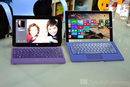 Surface Pro y Surface Pro 3