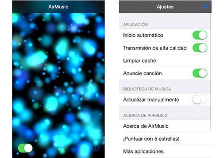 AirMusic y Chromecast