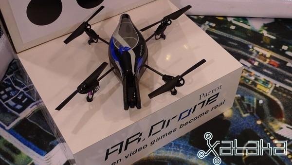 Foto de Parrot AR.Drone en vivo (1/4)
