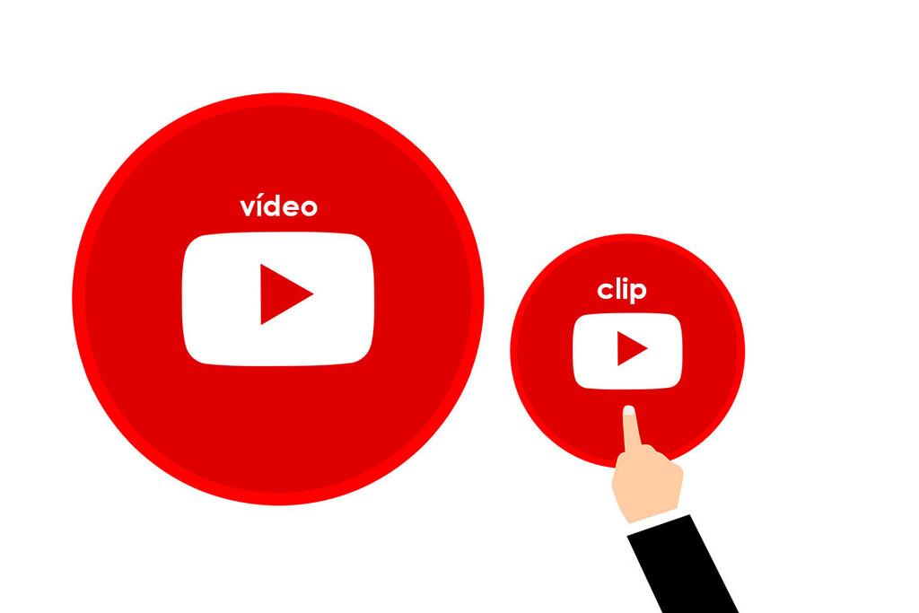 Cómo compartir el fragmento de un vídeo de YouTube™ como un clip