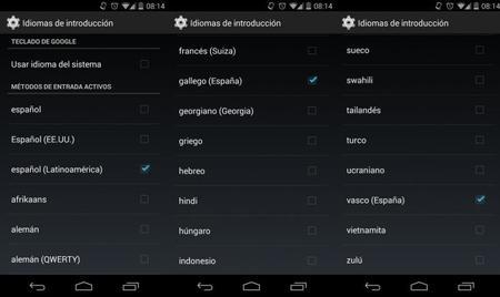 Se actualiza el teclado de Google agregando el idioma español latinoaméricano