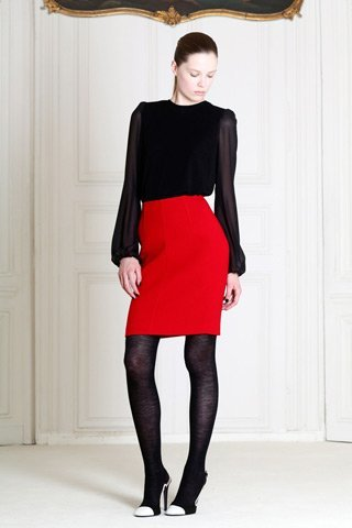 giambattista valli rojo negro