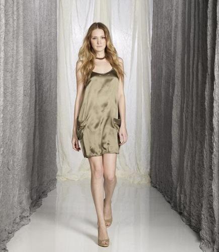 Sisley Primavera-Verano 2009, vestido II