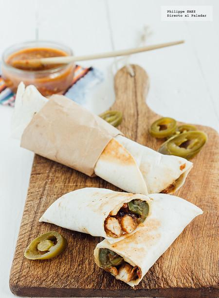 Receta burritos mexicanos tradicionales