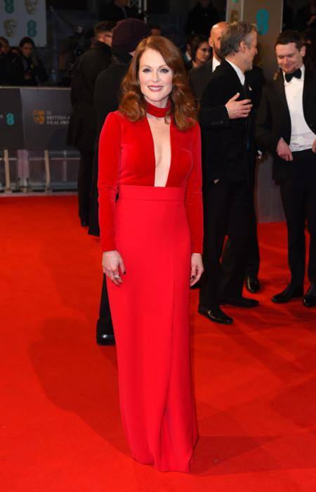Julianne Moore Tom Ford Bafta 2015 vestido