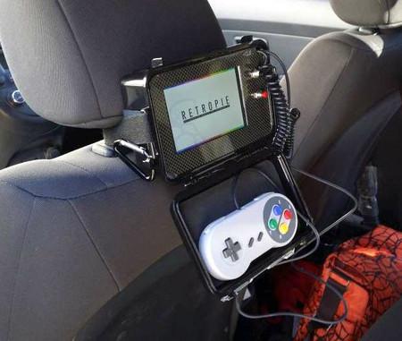 RetroPie consola en el coche con Raspberry Pi