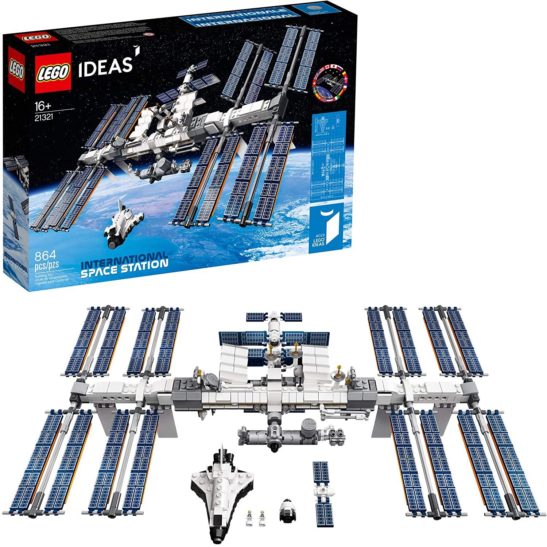 LEGO Kit de construcción para exponer Ideas 21321 Estación Espacial Internacional (864 Piezas)